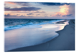 Acrylic print  Sunset at Kampen beach - Markus Lange