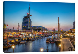 Rainer Ganske - Sail 2015 Klimahaus - Havenwelten Bremerhaven at night
