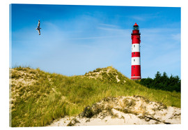 Acrylic print  Amrum Lighthouse - Reiner Würz