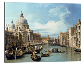Aluminium print  Entrance to the Canal Venice - Bernardo Bellotto (Canaletto)