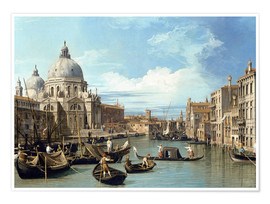 Poster  The entrance to the grand canal venice  - Bernardo Bellotto (Canaletto)