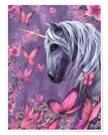 Premium poster The Butterfly Unicorn