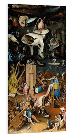 Foam board print  Garden of earthly delights, Hell - Hieronymus Bosch