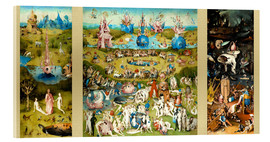 Acrylic print  The garden of earthly delights - Hieronymus Bosch