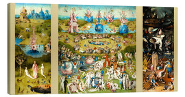 Canvas  The Garden of Earthly Delights - Hieronymus Bosch