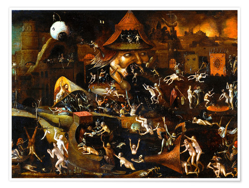 Premium poster The harrowing of hell