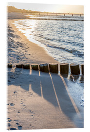 Acrylic print  Sunset on the Baltic Sea - Christian Müringer