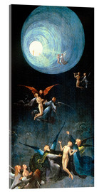 Acrylic print  The Ascent to the Heavenly Paradise - Hieronymus Bosch