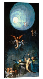 Aluminium print  The Ascent to the Heavenly Paradise - Hieronymus Bosch