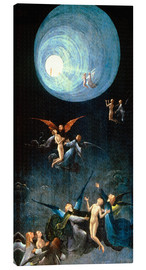 Canvas print  The Ascent to the Heavenly Paradise - Hieronymus Bosch