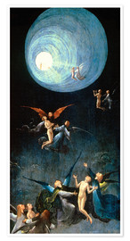 Premium poster  The Ascent to the Heavenly Paradise - Hieronymus Bosch