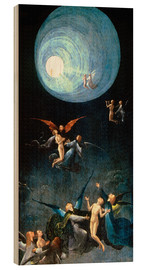 Wood print  The Ascent to the Heavenly Paradise - Hieronymus Bosch