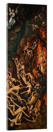 Acrylic print  The Last Judgement, right panel - Hans Memling