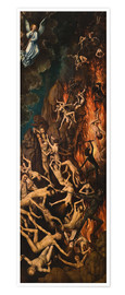 Premium poster The Last Judgement, right panel