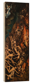 Wood  The Last Judgement, right panel - Hans Memling