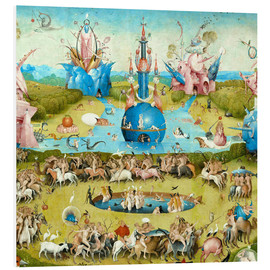 Forex  Garden of Earthly Delights, mankind before the Flood (detail) - Hieronymus Bosch