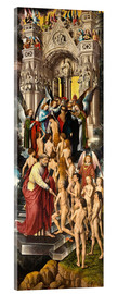 Acrylic print  The Last Judgement (left panel) - Hans Memling