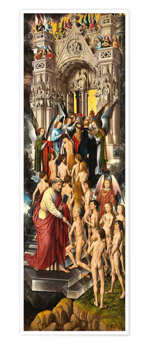 Premium poster The Last Judgement (left panel)