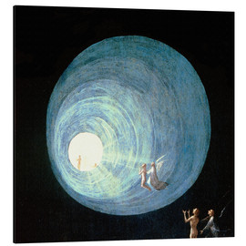 Aluminium print  The Ascent to the Heavenly Paradise (detail) - Hieronymus Bosch