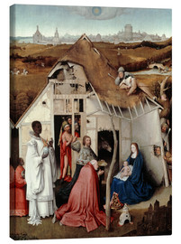 Canvas print  Adoration of the Magi - Hieronymus Bosch