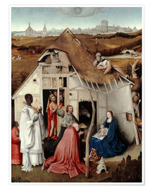 Premium poster  Adoration of the Magi - Hieronymus Bosch