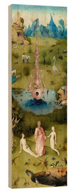 Hieronymus Bosch - Garden of Earthly Delights, the paradise