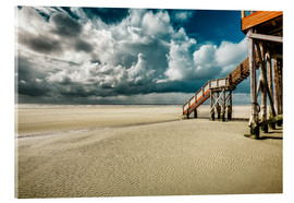 Acrylic print  North Sea Feeling in Sankt Peter-Ording - Stefan Becker