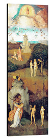Aluminium print  Emergence of evil and the loss of paradise - Hieronymus Bosch