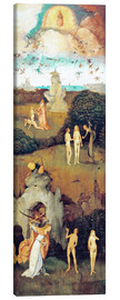 Canvas print  Emergence of evil and the loss of paradise - Hieronymus Bosch