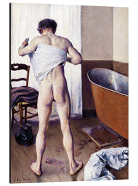 Aluminium print  Man in the bathroom - Gustave Caillebotte