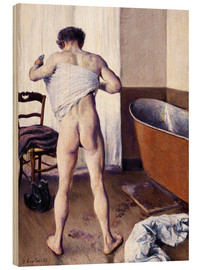 Wood  Man in the bathroom - Gustave Caillebotte