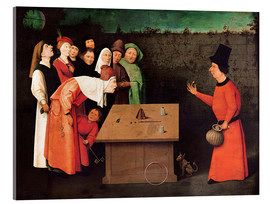 Acrylic print  The entertainer - Hieronymus Bosch