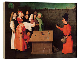 Wood  The entertainer - Hieronymus Bosch