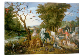 Jan Brueghel d.Ä. - Noah leads the animals into the ark