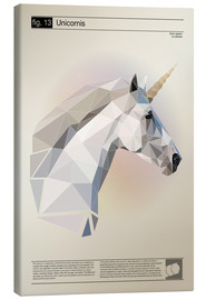 Canvas print  fig13 Polygoneinhorn Poster - Labelizer