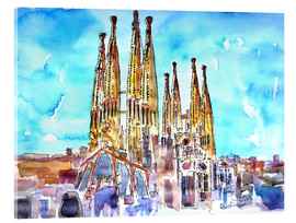 M. Bleichner - A turquoise heaven above the Sagrada Familia in Barcelona Catalonia