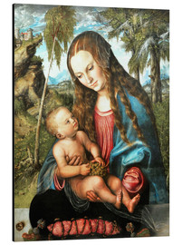 Aluminium print  Madonna under the fir tree - Lucas Cranach d.Ä.