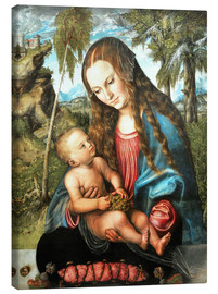 Canvas print  Madonna under the fir tree - Lucas Cranach d.Ä.