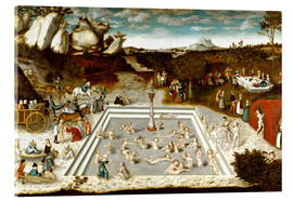 Acrylic print  The Fountain of Youth - Lucas Cranach d.Ä.