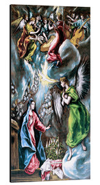 Aluminium print  The Annunciation  - Dominikos Theotokopoulos (El Greco)