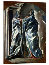 Dominikos Theotokopoulos (El Greco) - The Visitation