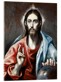 Dominikos Theotokopoulos (El Greco) - The Redeemer