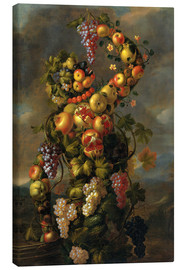 Canvas print  Autumn (An Allegory of the Four Seasons) - Giuseppe Arcimboldo