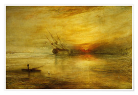 Premium poster  Fort Vimieux - Joseph Mallord William Turner