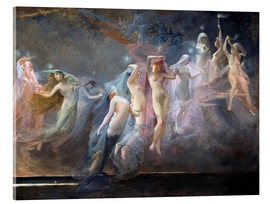 Acrylic glass  The Morning Stars (Les Etoiles du Matin) - Sarah Paxton Ball Dodson