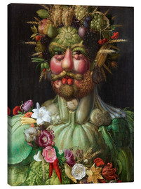 Canvas print  Rudolf II of Habsburg as Vertumnus - Giuseppe Arcimboldo