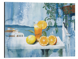Alu-Dibond  Glass with oranges - Franz Heigl