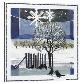 Aluminium print  Winter - Franz Heigl