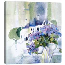 Canvas print  Hydrangeas - Franz Heigl