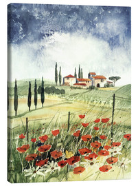 Canvas  Toscana III - Franz Heigl